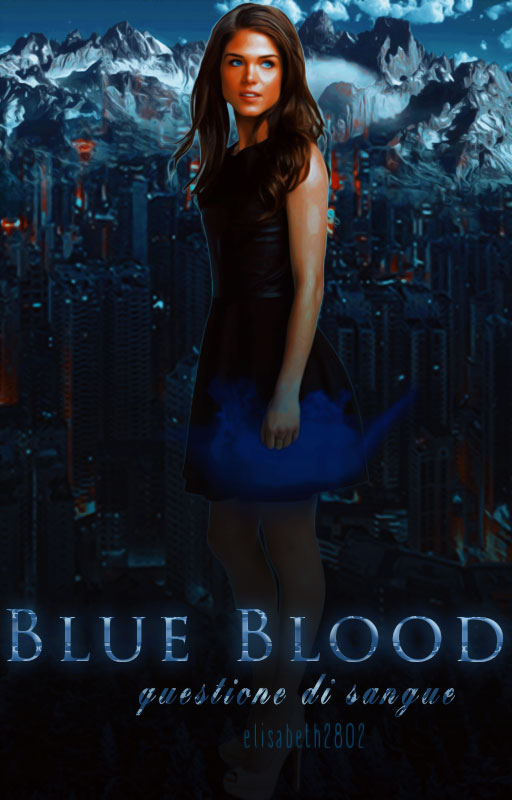 Blue Blood||Wattpad Cover|| by DaisyChan55