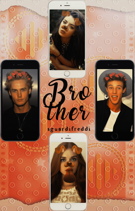 Brother||Wattpad Cover|| by DaisyChan55