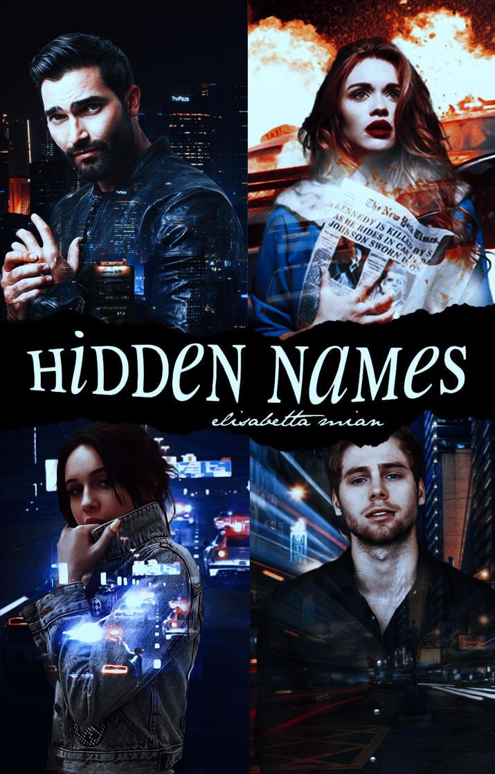 Hidden Names||Wattpad Cover|| by DaisyChan55