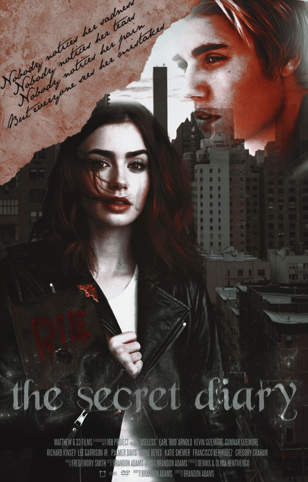 The Secret Diary  Wattpad Cover   by DaisyChan55