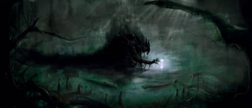 Spirit of the Swamp by Quaquaresma