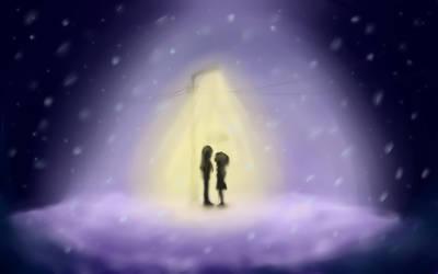 a Light in the Blizzard by NWayfarer