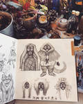 sketchbook 4 page 45 by Bakhareva