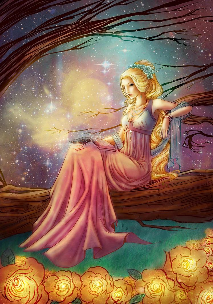 Solar princess by Afroditae