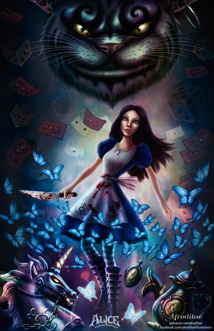 Alice Madness Returns Poster by Afroditae