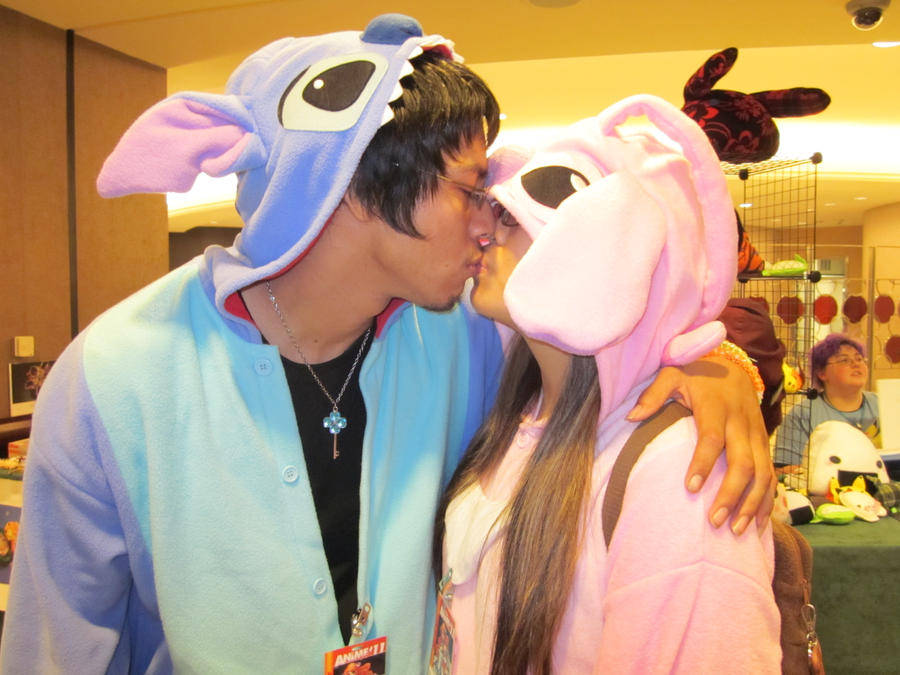 Stitch And Angel Costume Af '11: stitch x angel by