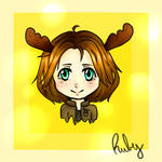 The moose by Ruby-Yaoi-Lover
