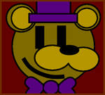 Fredbear Poster remake from FNaF4