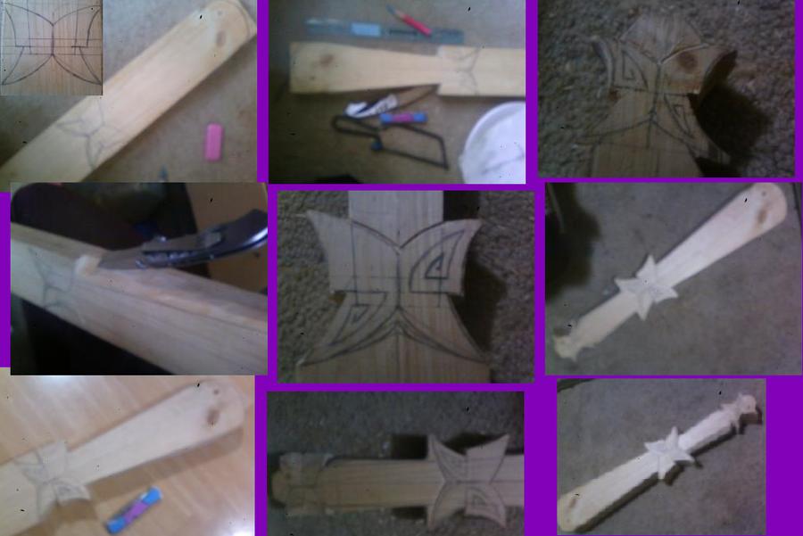 My Handcarved, Butterfly Warclubs {plural} Butterfly_warclub_in_progress_by_gadgetsmith-d5ml3l9