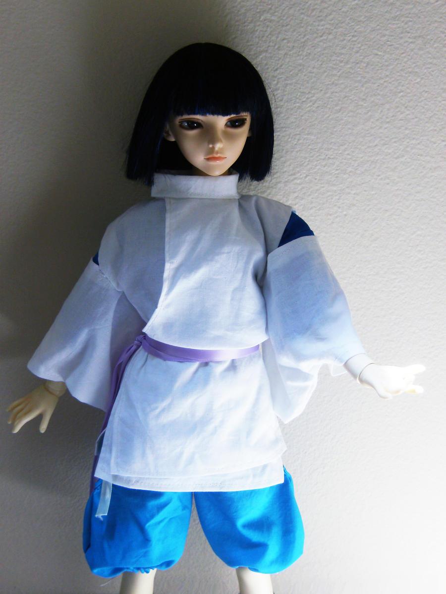 Haku .:. Spirited Away by Aiko-Yamada