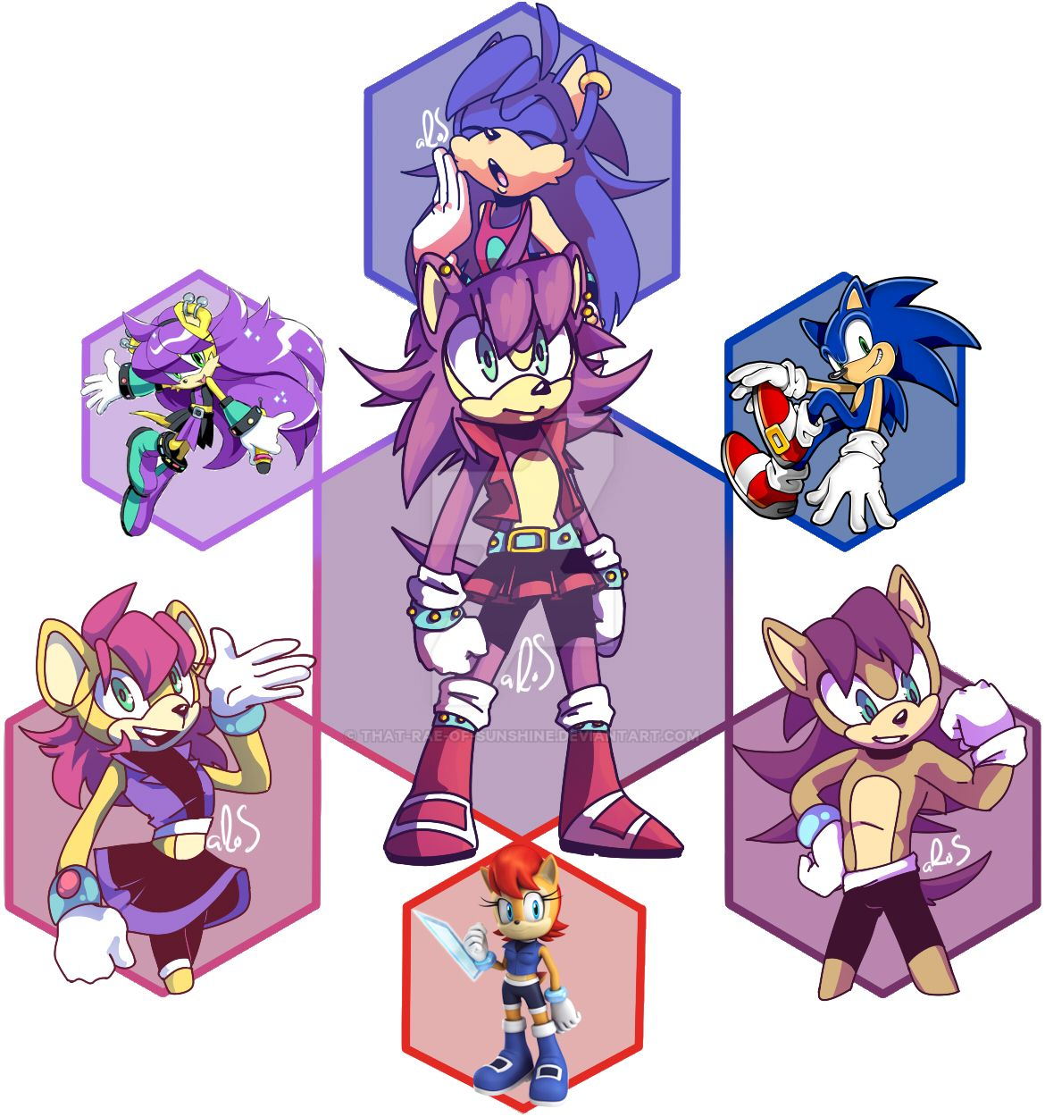 Hexafusion | Dodged a Bullet by that-rae-of-sunshine on DeviantArt