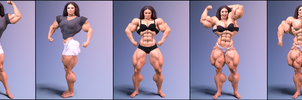 Lisa the Gym Girl, images by DR3AMRUN