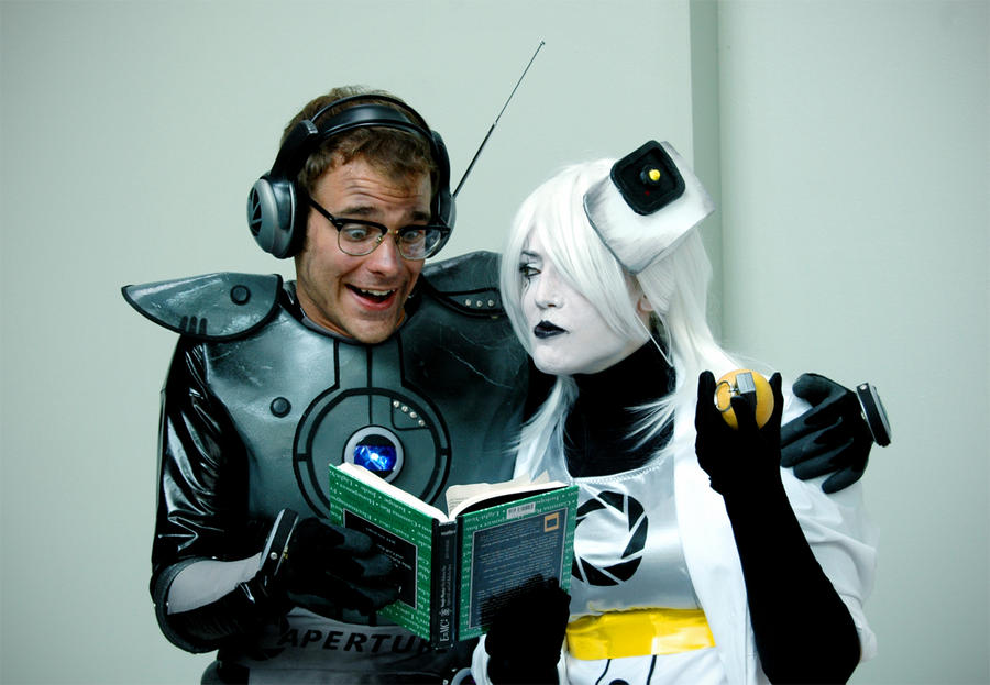 PORTAL: compLEtE MORon by cafe-lalonde