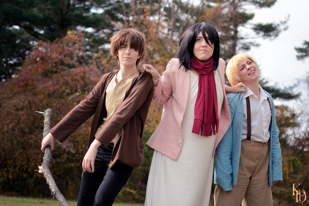 Attack on Titan: E - M - A by cafe-lalonde