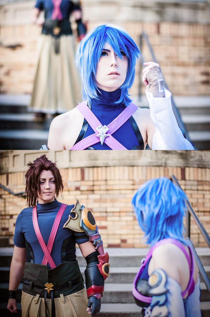 KINGDOM HEARTS : ' i'm doing it again. ' by cafe-lalonde