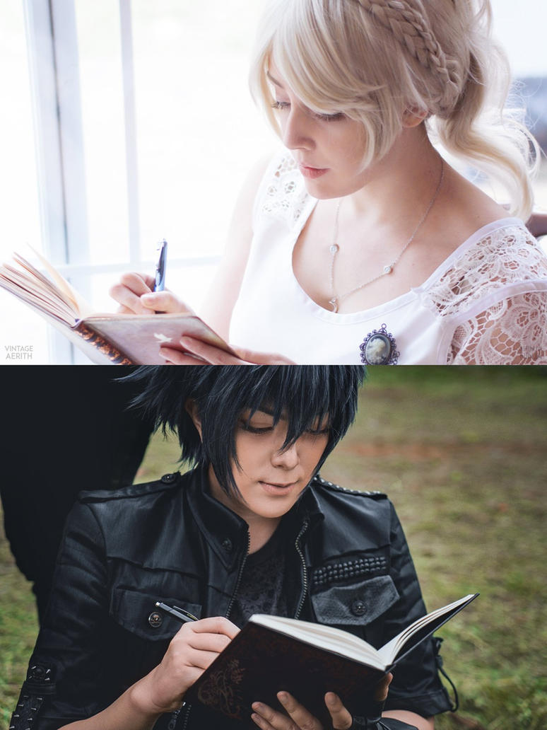 FFXV : when the day met the night by cafe-lalonde