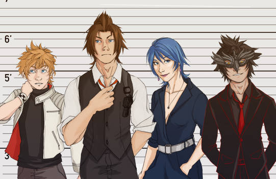 KH 007 AU: the usual suspects