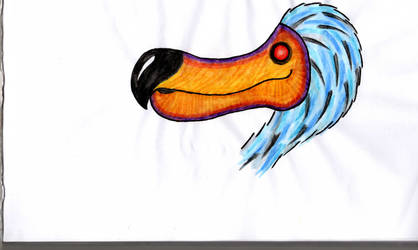 Dirty Dodo unfinished by DotWorkTattoo