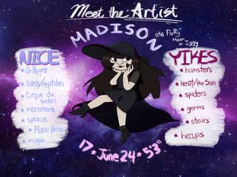 Meet the Artist by fluffysnail