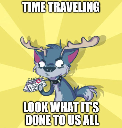 Play Wild Beta Time Travelling Meme By Xxpeacefulchaosxx On