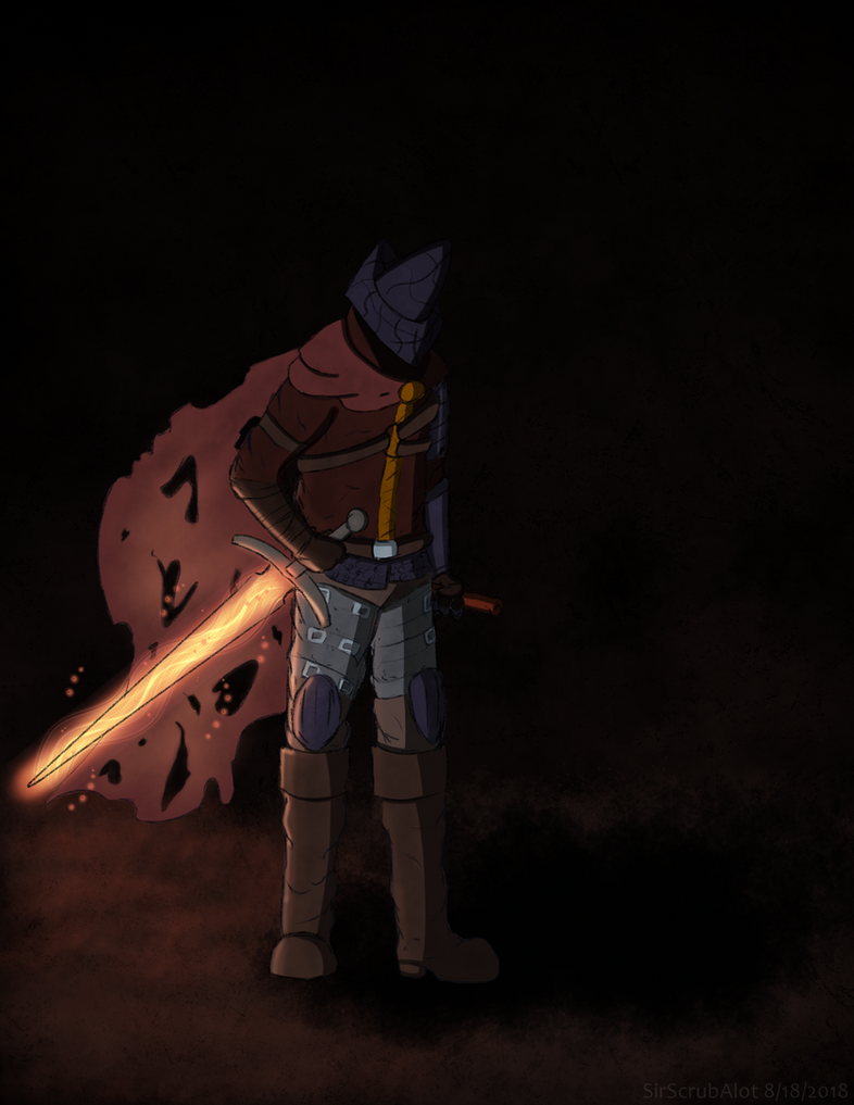 The Abyss Watcher by SirScrubAlot
