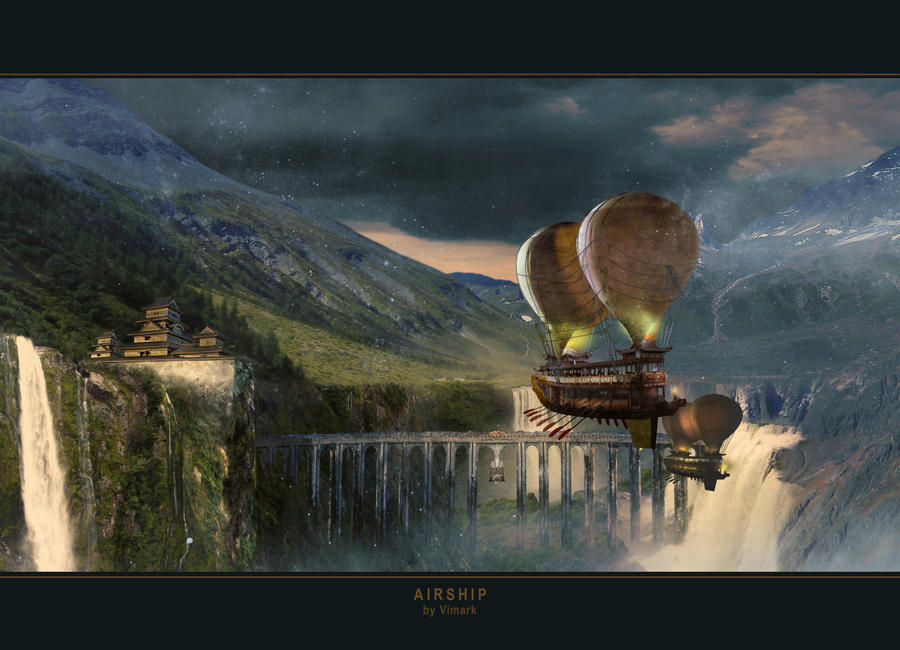 Airship by vimark