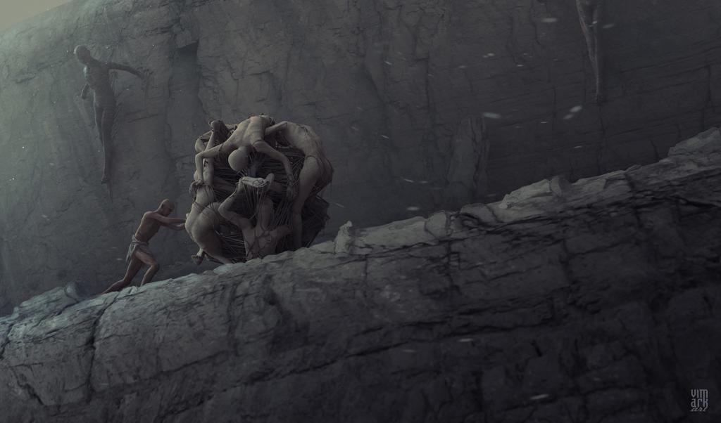 Sisyphus by vimark