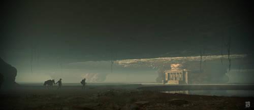 Underground temple by vimark