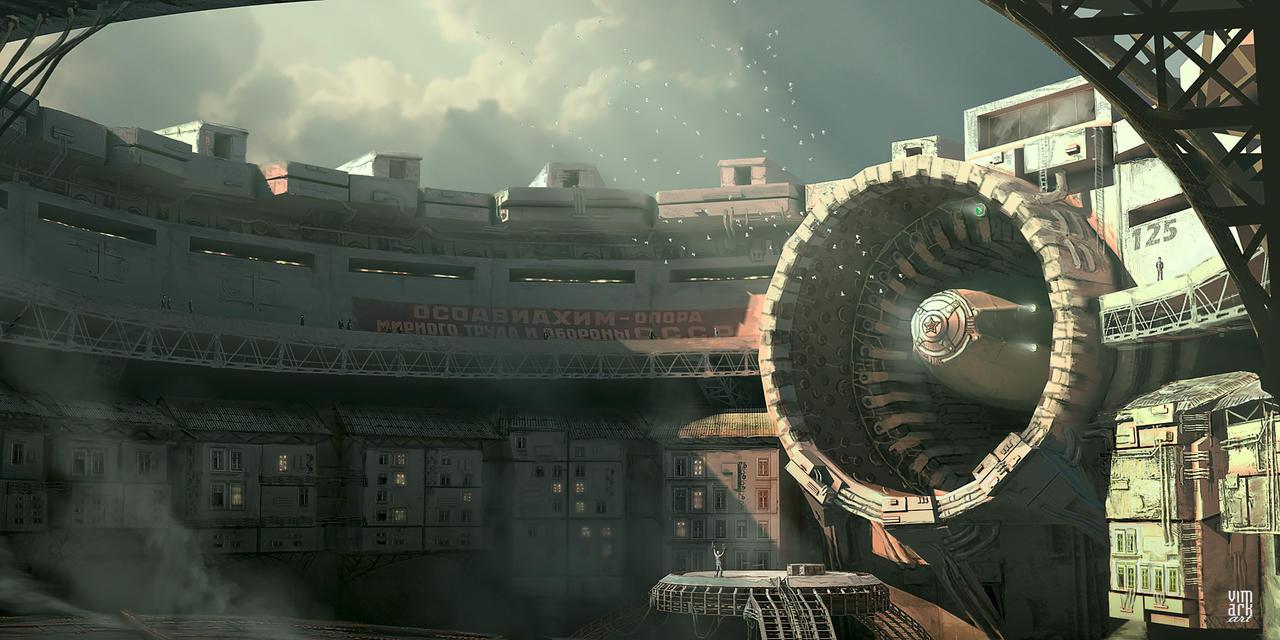Zeppelin dock station