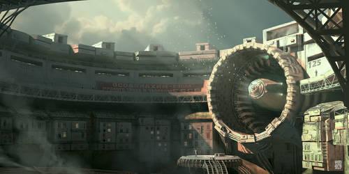 Zeppelin dock station by vimark