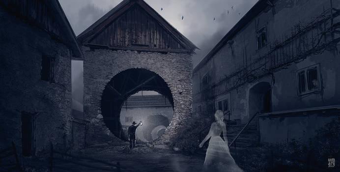 The secret of an abandoned village