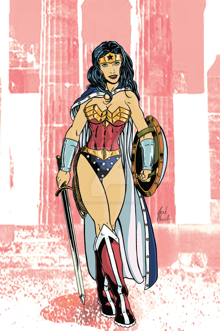 Wonder Woman 01 Colored by BanebrookStudios