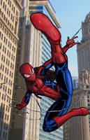 Ultimate Spider-man color by BanebrookStudios