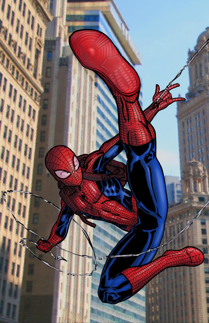 Ultimate Spiderman Cartoon Wallpaper