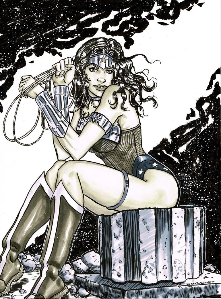 Wonder Woman 05 by BanebrookStudios