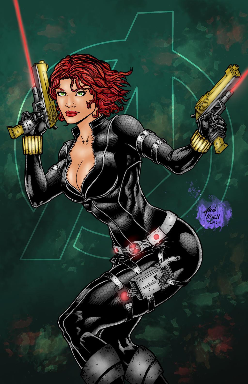 Black Widow Comic