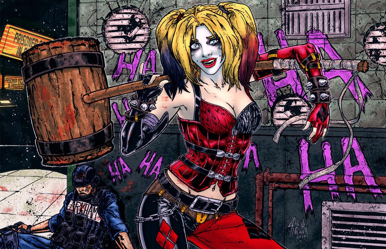 Harley Quinn Colors by BanebrookStudios