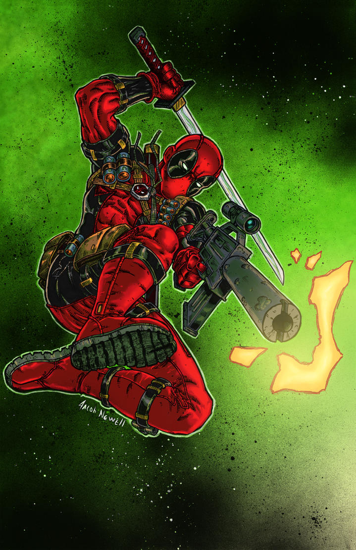 Deadpool Colors by BanebrookStudios