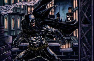 Batman 2015 Colored by BanebrookStudios