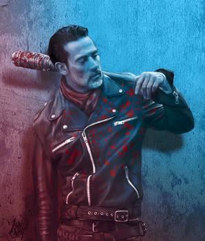 Negan from The Walking Dead