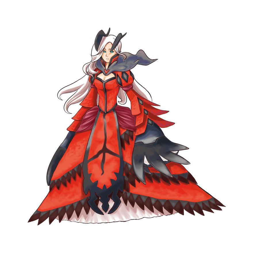 Yveltal Gijinka by kiruki-chan on DeviantArt