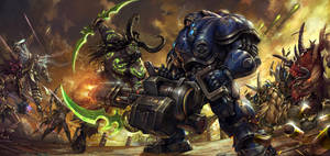 Illidan vs Tychus