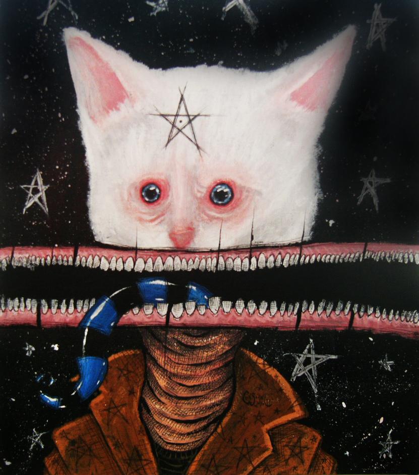 Phillip the Cat by chris-cote