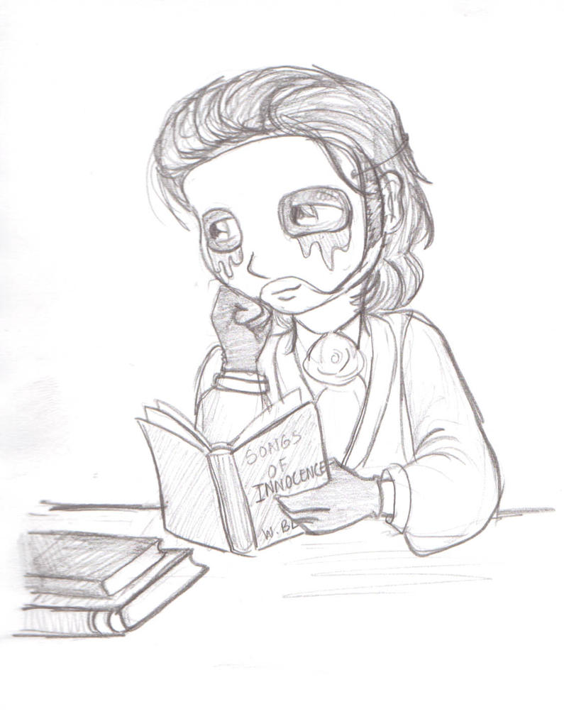 Erik:Bookworm by Punjabchild