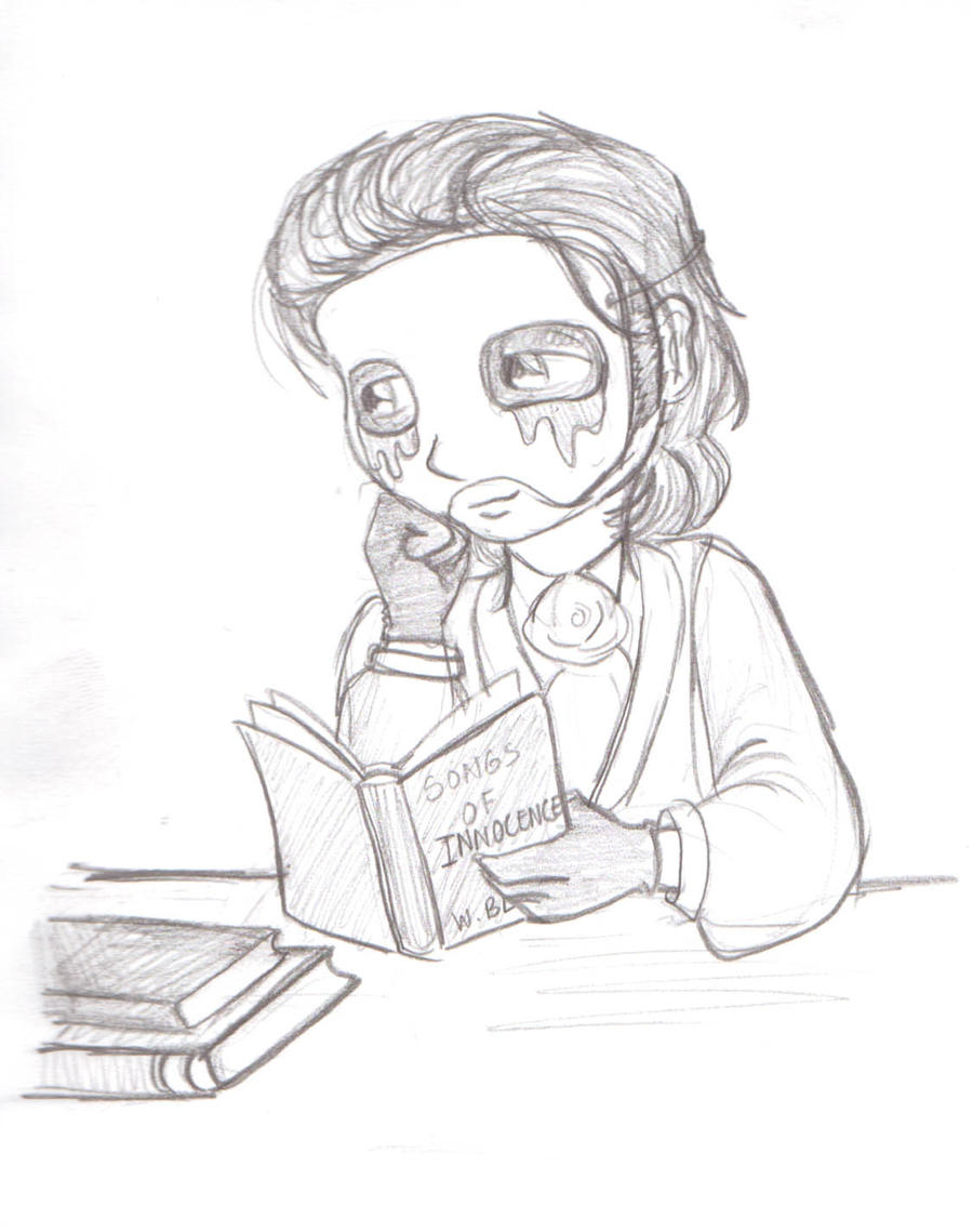 Erik:Bookworm by Punjabchild