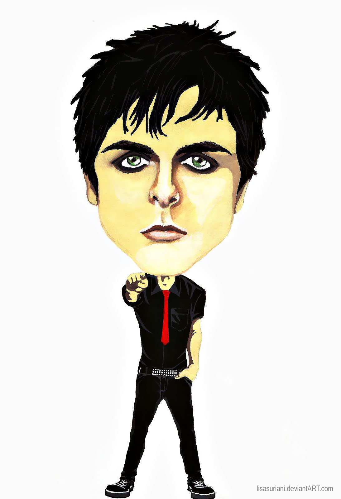 Billie Joe Caricature by lisasuriani