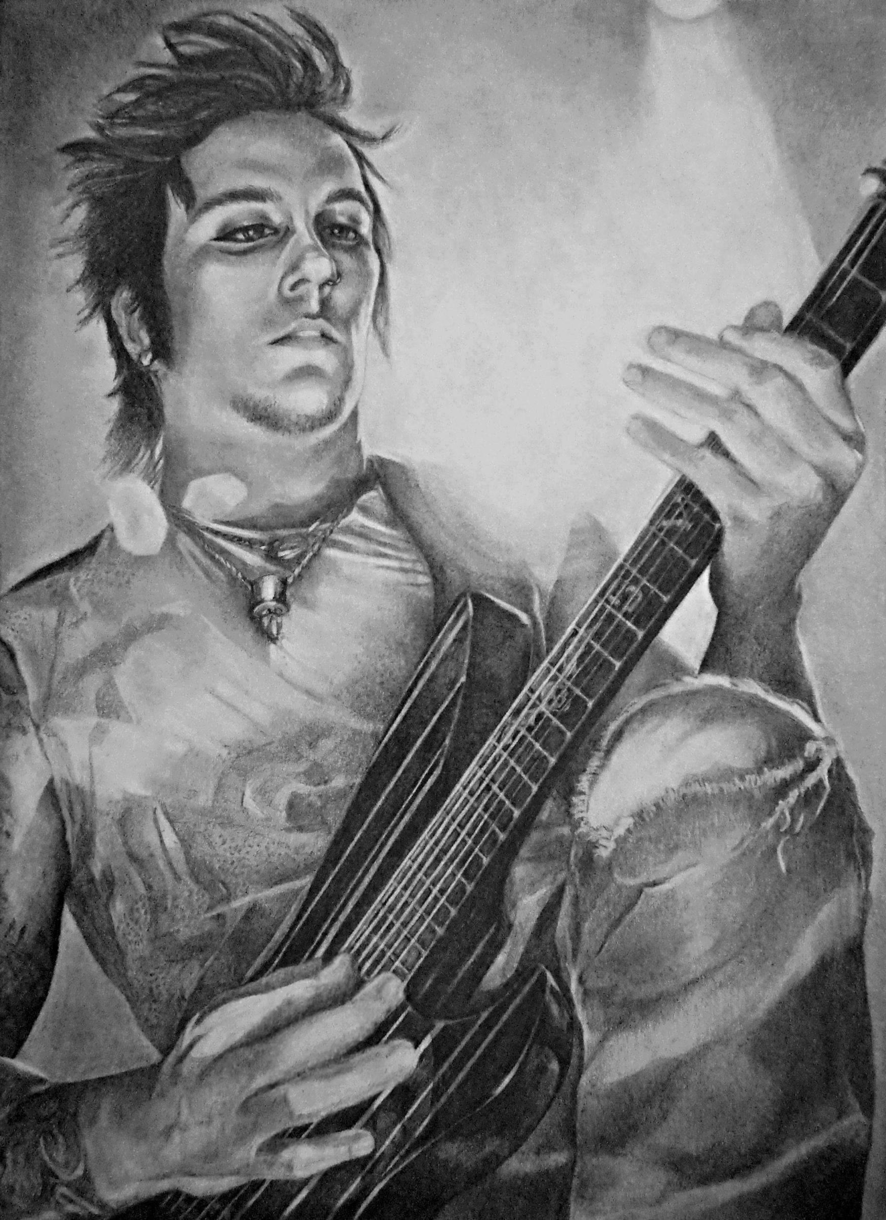 Synyster Gates By Lisasuriani On Deviantart
