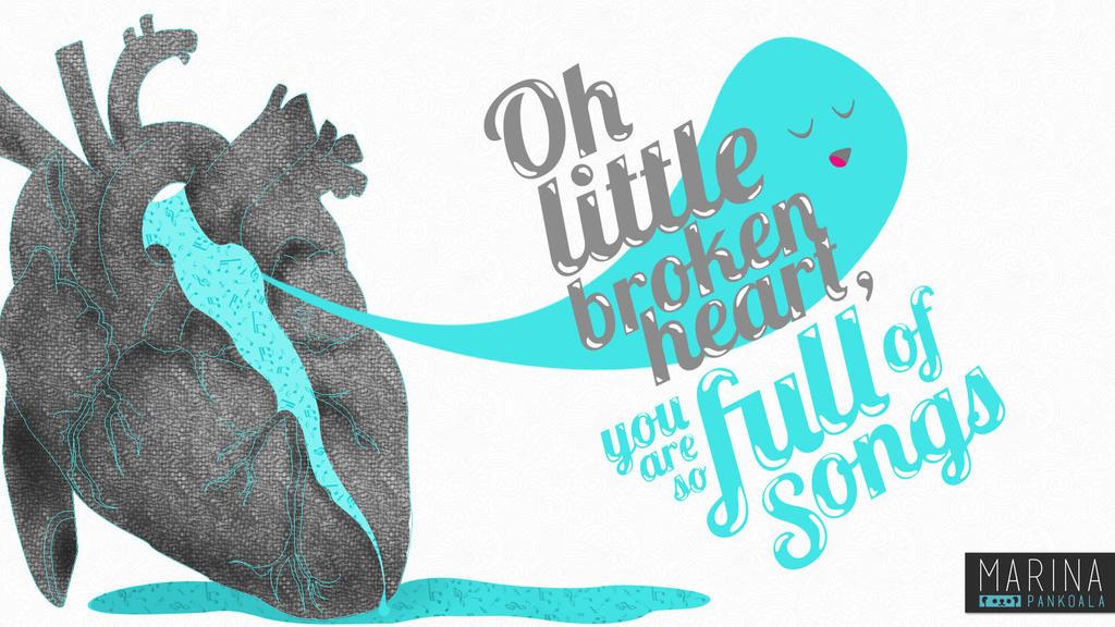 Little broken heart by Pankoala