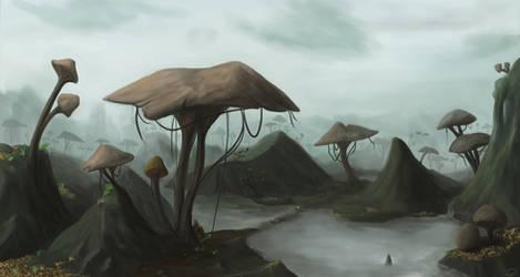 Mushrooms by laspinter