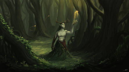 Spirit of the forest by laspinter